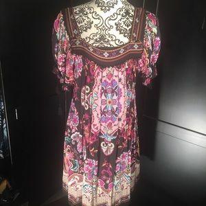 ECI New York boho/gypsy dress